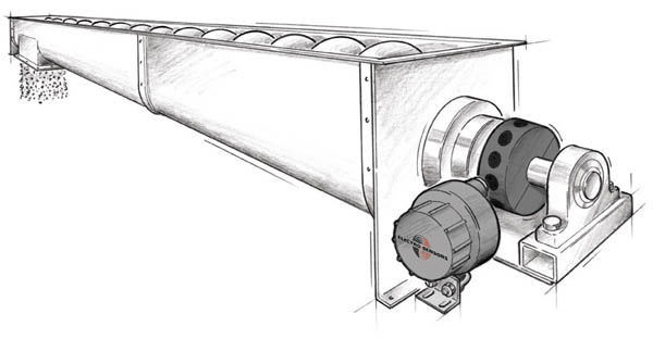 Detecting Shaft Speed On A Screw Conveyor